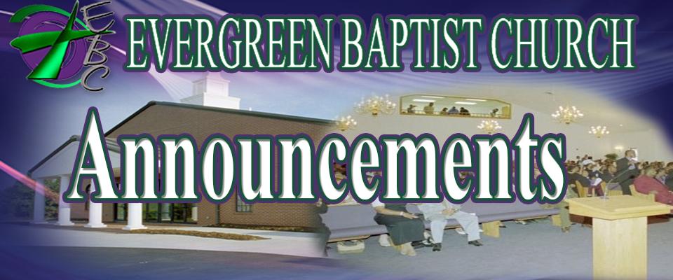 Evergreen Baptist Chur...